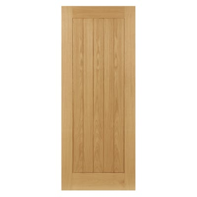 Deanta Internal Oak Coventry 4 Panel Door