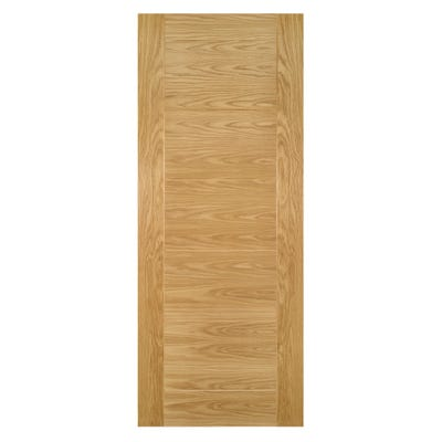 Deanta Internal Oak Seville 7 Panel Prefinished Door