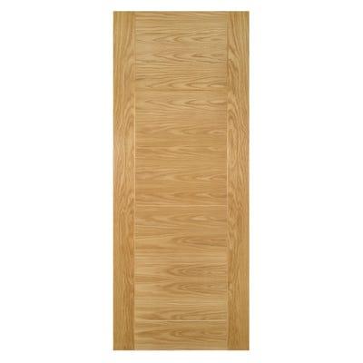 Deanta Internal Oak Seville 7 Panel Prefinished FD30 Fire Door