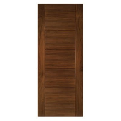 Deanta Internal Walnut Seville 7 Panel Prefinished FD30 Fire Door