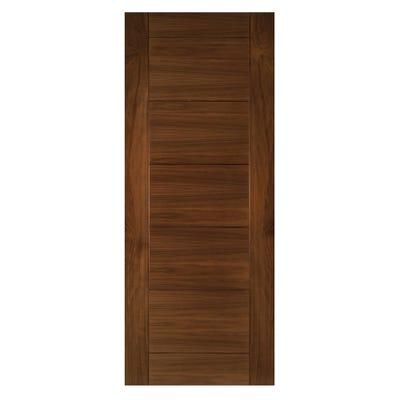 Deanta Internal Walnut Seville 7 Panel Prefinished FD30 Fire Door