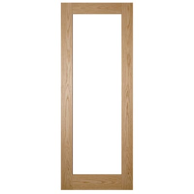 Deanta Internal Oak Walden 1L Pattern 10 Clear Glazed Door