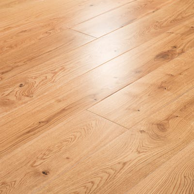 20 x 150mm Lacquered Oak Solid Wood Flooring