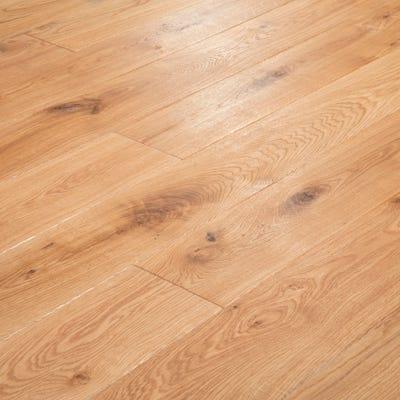 20 x 150mm Brushed and Oiled Oak Solid Wood Flooring