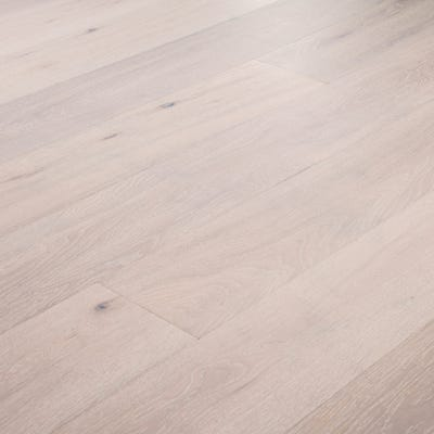 14 x 189mm Pure White Oak Matt Lacquered Click Engineered Wood Flooring