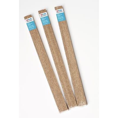 Cork Expansion Strip 600mm x 12.5mm x 7.5mm Pack of 18