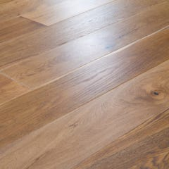 18 x 189mm Smoked Stained Oak Matt Lacquered T&G Engineered Wood Flooring
