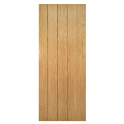 Deanta Internal Oak Galway 5 Panel Door