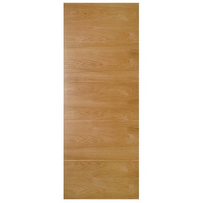 Deanta Internal Oak Augusta 5 Panel Prefinished FD30 Fire Door
