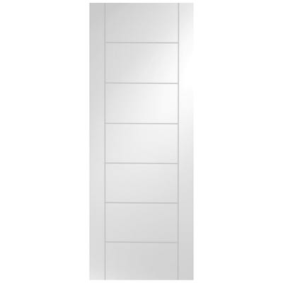 XL Joinery Internal White Primed Palermo 7 Panel Door