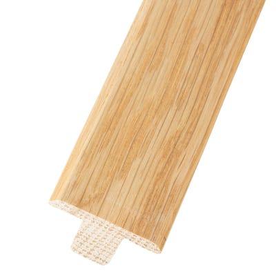 Solid Oak T-Bar 20mm Floors Lacquered 2.35m