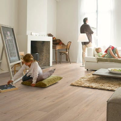 Quick Step Largo LPU1661 Long Island Oak Natural Laminate Flooring
