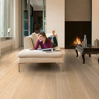 Quick Step Largo LPU1283 White Varnished Oak Laminate Flooring