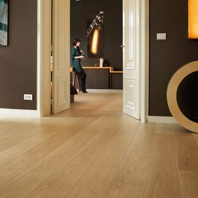 Quick Step Largo LPU1284 Natural Varnished Oak Laminate Flooring