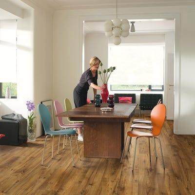 Quick Step Eligna Wide UW1543 Reclaimed Chestnut Antique Laminate Flooring