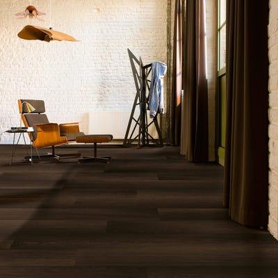 Quick Step Eligna Wide UW1540 Fumed Oak Dark Laminate Flooring