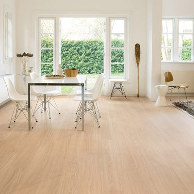 Quick Step Perspective Wide ULW1538 Oak White Oiled Laminate Flooring