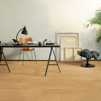 Quick Step Perspective Wide ULW1539 Oak Natural Oiled Laminate Flooring