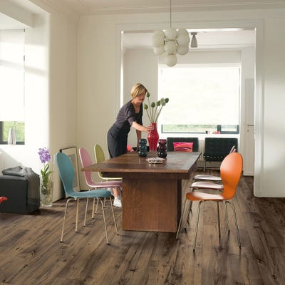 Quick Step Perspective Wide ULW1544 Reclaimed Chestnut Brown Laminate Flooring