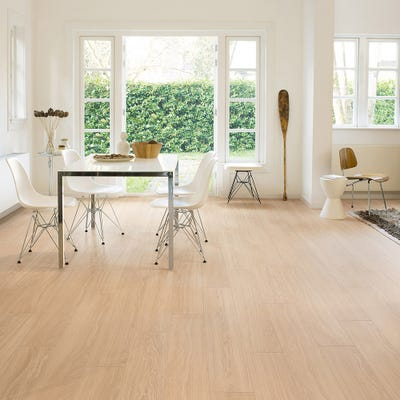 Quick Step Perspective Wide UFW1538 Oak White Oiled Laminate Flooring