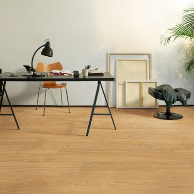 Quick Step Perspective Wide UFW1539 Oak Natural Oiled Laminate Flooring