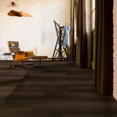 Quick Step Perspective Wide UFW1540 Fumed Oak Dark Laminate Flooring