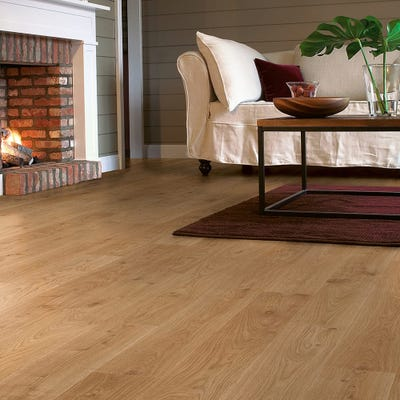 Quick Step Elite UE1491 White Oak Light Laminate Flooring