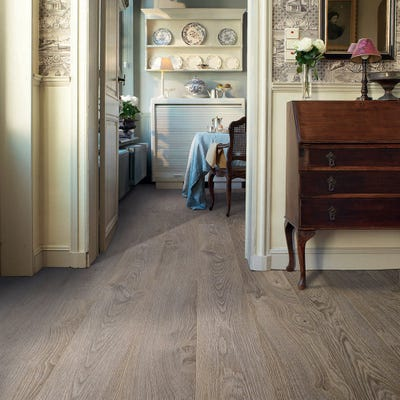 Quick Step Elite UE1406 Old Oak Light Grey Laminate Flooring