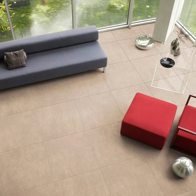 Quick Step Arte UF1401 Leather Tile Light Laminate Flooring
