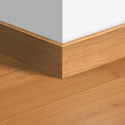 Quick Step Natural Varnished Cherry Parquet Skirting 14 x 77 x 2400mm Design QS0864