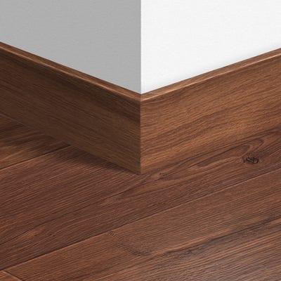 Quick Step Vintage Dark Oak Varnished Parquet Skirting 14 x 77 x 2400mm Design QS1001