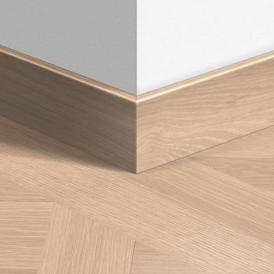 Quick Step Versailles White Oiled Parquet Skirting 14 x 77 x 2400mm Design QS1248