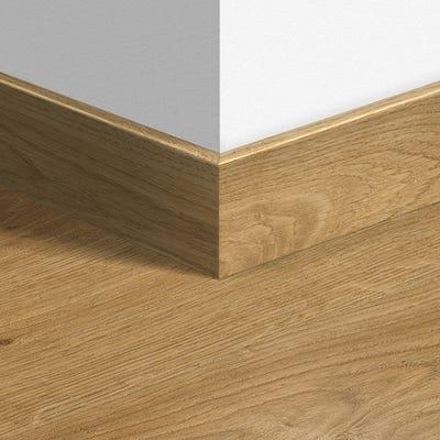 Quick Step White Oak Light Oak Parquet Skirting 14 x 77 x 2400mm Design QS1491