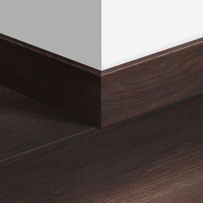 Quick Step Fumed Oak Dark Parquet Skirting 14 x 77 x 2400mm Design QS1540