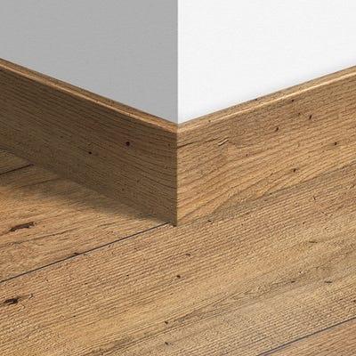 Quick Step Reclaimed Chestnut Natural Parquet Skirting 14 x 77 x 2400mm Design QS1541