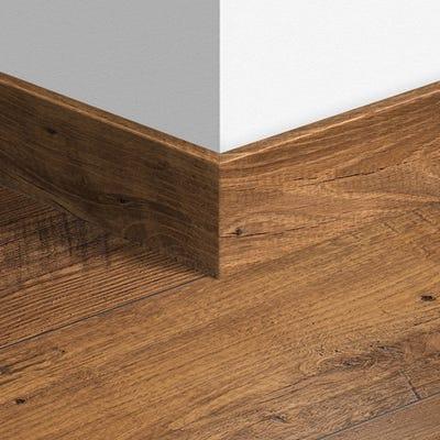 Quick Step Reclaimed Chestnut Antique Parquet Skirting 14 x 77 x 2400mm Design QS1543