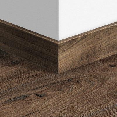 Quick Step Reclaimed Chestnut Brown Parquet Skirting 14 x 77 x 2400mm Design QS1544