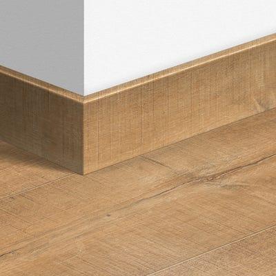 Quick Step Oak Saw Cuts Nature Parquet Skirting 14 x 77 x 2400mm Design QS1548