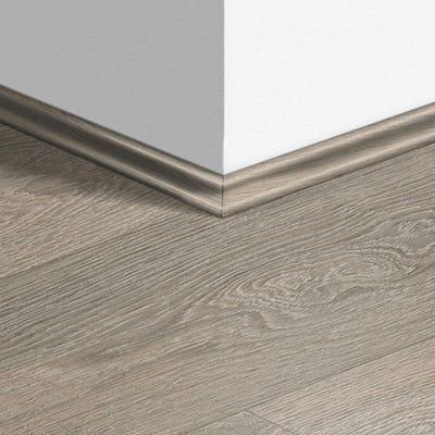Quick Step Old Oak Light Grey Laminate Scotia Beading 2.4m Design QS1405