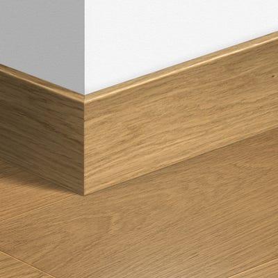 Quick Step Natural Varnished Oak Parquet Skirting 14 x 100 x 2400mm Design QS1284
