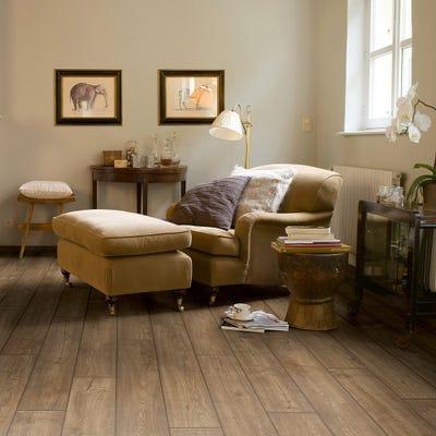 Quick Step Impressive IM1850 Scraped Oak Grey Brown Laminate Flooring