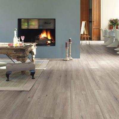 Quick Step Impressive IM1858 Saw Cut Oak Grey Laminate Flooring