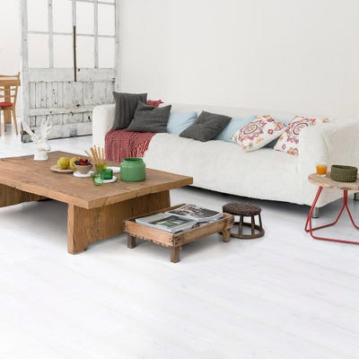 Quick Step Impressive IM1859 White Planks Laminate Flooring