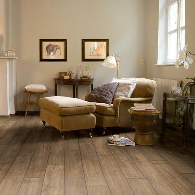 Quick Step Impressive Ultra IMU1850 Scraped Oak Grey Brown Laminate Flooring