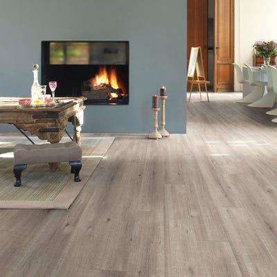 Quick Step Impressive Ultra IMU1858 Saw Cut Oak Grey Laminate Flooring
