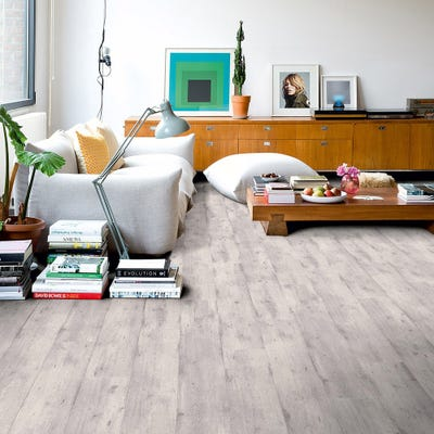 Quick Step Impressive Ultra IMU1861 Concrete Wood Light Grey Laminate Flooring