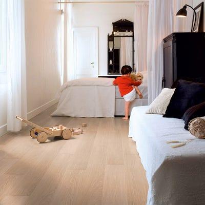 Quick Step Impressive Ultra IMU3105 White Varnished Oak Laminate Flooring
