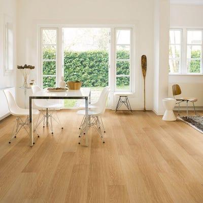 Quick Step Impressive Ultra IMU3106 Natural Varnished Oak Laminate Flooring