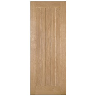 Deanta Internal Oak Ely Prefinished 5 Panel Door