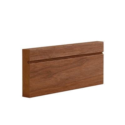 Deanta Internal Walnut Veneer Architrave Shaker Style Prefinished Door Set